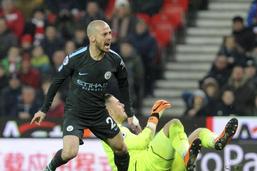 Manchester City s'impose à Stoke