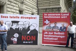 Le Conseil des Etats rejette l'initiative sur les juges étrangers