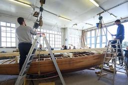 Le voilier le plus titré du Léman en pleine restauration