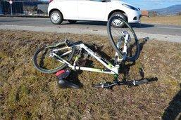 Un automobiliste renverse un cycliste à Bulle