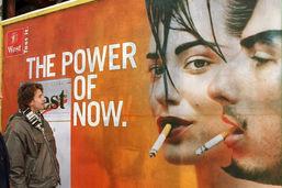 Une initiative lancée contre la publicité pour le tabac