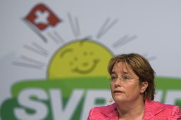 Magdalena Martullo-Blocher élue à la vice-présidence de l'UDC