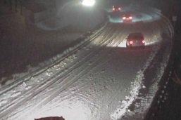 La neige a fortement perturbé la circulation au Gothard