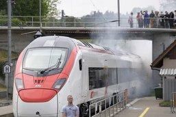 Le premier train à grande vitesse pour le Gothard a passé les tests