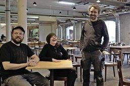 Un café-restaurant éphémère a ouvert à Bluefactory