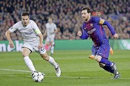 Un Messi de gala qualifie le Barça