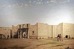 Le chien immortel de Fort Alamo
