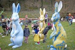 Un lapin bleu qui se fait désirer