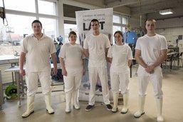 Cinq apprentis se distinguent