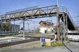 La passerelle ferroviaire de Chiètres sera restaurée