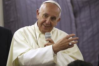 """Le pape appelle le WEF à la """"responsabilité"""" face à la pauvreté"""