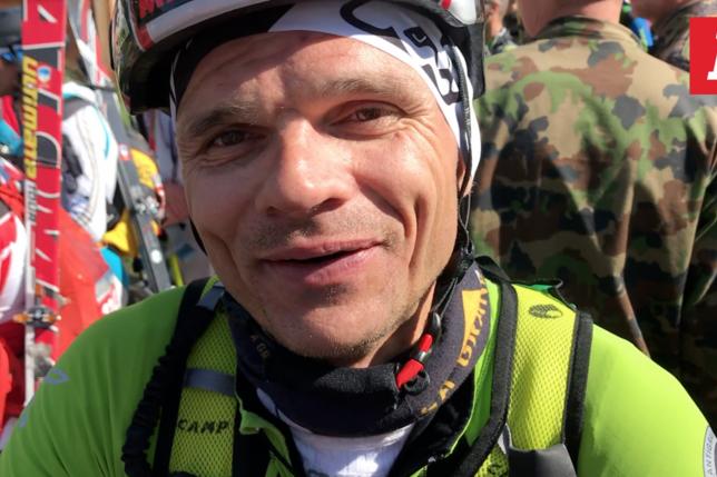 Patrouille des Glaciers: réaction vidéo de Fribourgeois