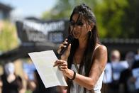Des militants de la cause animale ont manifesté devant l'Uni de Fribourg