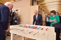 Le président allemand a visité Fribourg jeudi matin