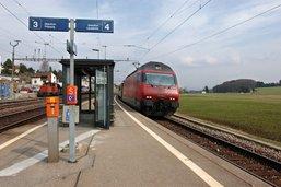 Une nouvelle gare pour remplacer celles de Rosé et Matran