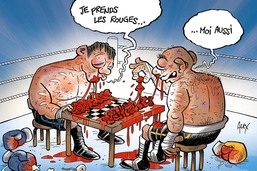 Le chessboxing, sport qui mêle boxe et échecs
