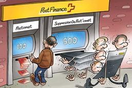 Postfinance: 500 postes de travail à la trappe