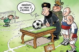 La Russie et la diagonale du foot