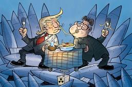 Trump et Kim: le rapprochement