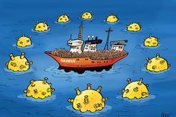 L'Europe et les migrants d'Aquarius