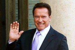 Arnold Schwarzenegger de retour à la maison