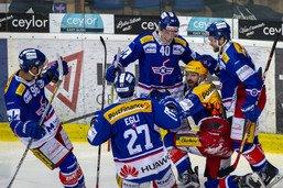 Kloten remporte le plus long match de l'histoire du hockey suisse