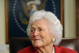 L'ancienne première dame des Etats-Unis Barbara Bush est morte
