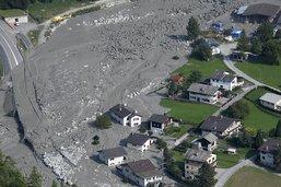 La population sera alertée en cas de glissement de terrain