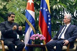 Maduro, premier président à rendre visite au nouveau leader cubain