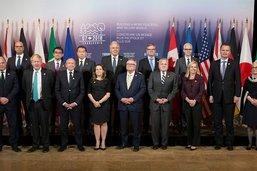 Front uni du G7 face au comportement de la Russie