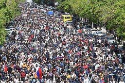 La contestation reprend en Arménie - La Russie se place en médiatrice