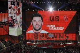 NFL: Cleveland parie sur Baker Mayfield lors de la draft
