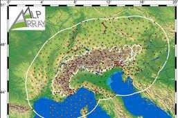 Les Alpes couvertes par un réseau de 600 sismographes