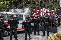 Genève: près de 2'000 personnes au cortège du 1er mai
