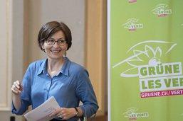 Regula Rytz réélue à la présidence des Verts