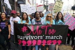#MeToo: la fondatrice veut des ressources pour les victimes d'abus
