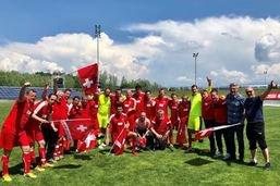Les parlementaires suisses champions d'Europe de football