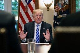 """Trump qualifie certains immigrants illégaux d'""""animaux"""""""