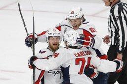NHL: Washington fait chuter Vegas dans sa forteresse