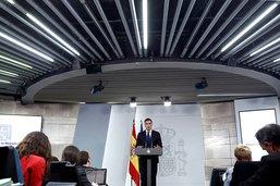Pedro Sanchez annonce un gouvernement pro-européen