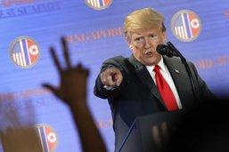 """""""Réveille-toi, tête à claques!"""": Trump réplique à De Niro"""