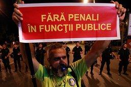Manifestation en Roumanie contre un assouplissement du Code pénal
