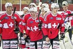 La Suisse peine à marquer