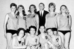 Fribourgeoises déjà championnes de Suisse en 1965