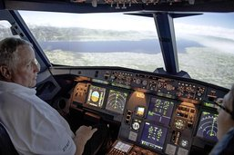 Aux commandes d'un Airbus A320