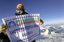 Un Fribourgeois sur le Lhotse