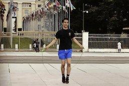 Amir Kazemi, en corde à sauter contre la pauvreté