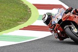 Lorenzo et les Ducati en force