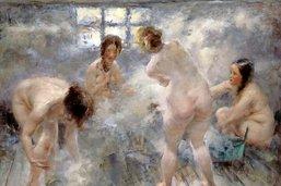 Plonger dans le bain russe