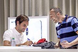 Roger Federer dans le bon timing